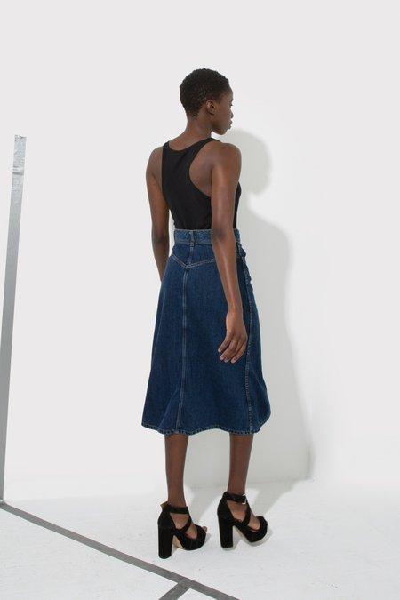 Enda Denim Candice Skirt - Blue