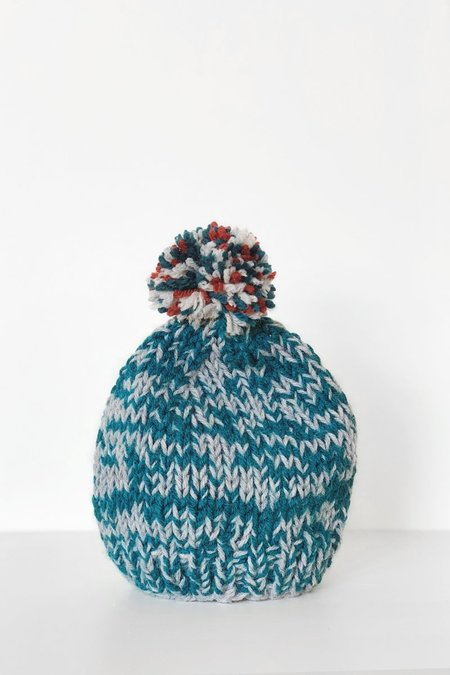 Kids North of West Hand Knit Hat by Mom - Toddler