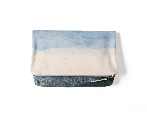 Lee Coren New Hampshire Foldover Clutch