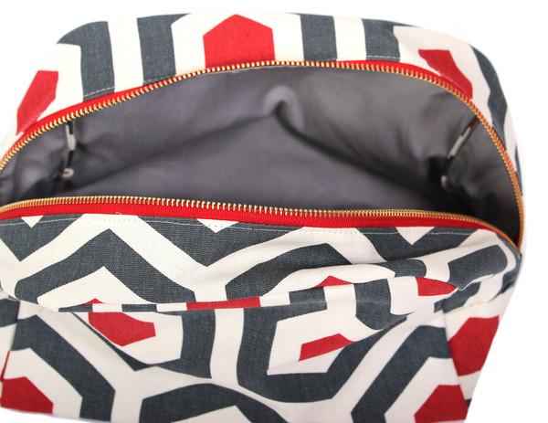 Frankie & Coco Geometric Toiletry Bag