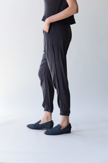Private 0204 200 Silk Pants - Japanese blue