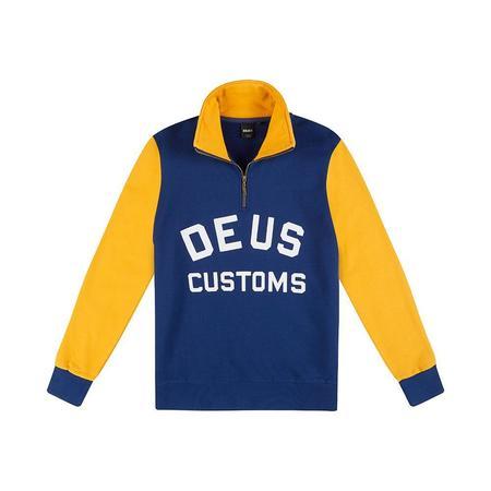 Deus Ex Machina Handsford Half Zip Sweater