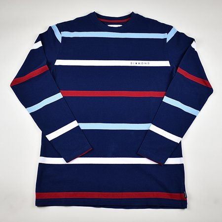 Diamond Supply Co. Paradise Striped Top - Blue/Red/White