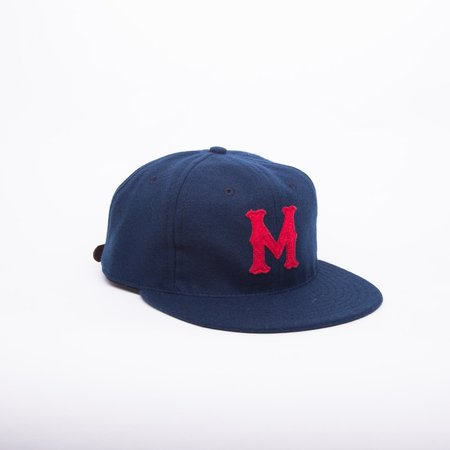 Ebbets Field Flannels San Francisco Missions aka Reds 1937 Ball Cap - Navy