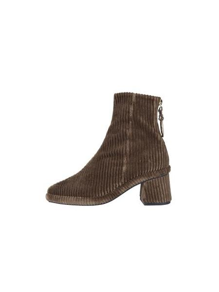 Reike Nen Ring Middle Boots - Olive