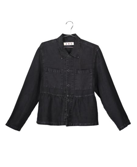 amo Cropped Rosie Jacket - Washed Black