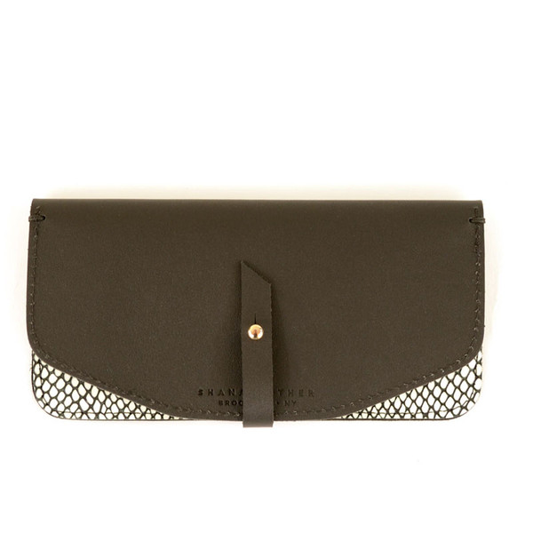 Shana Luther Maxi Wallet w/ Dots