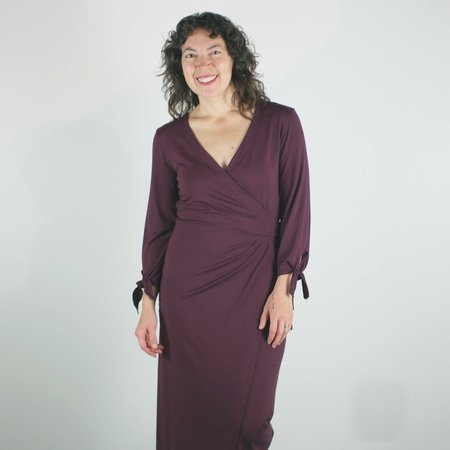 Sarah Liller Camille Dress - Vineyard Wine