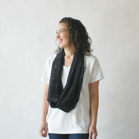 Argaman & Defiance Naturally Dyed Raw Silk Infinity Scarves