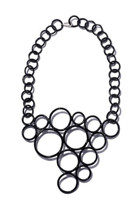 Jane D'Arensbourg Bubble Necklace - Black