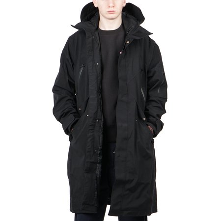 Goldwin DOWN MODS COAT - BLACK