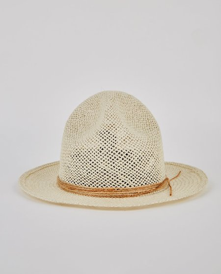 Super Duper Hatters Crew Holes Jute Hat - Natural