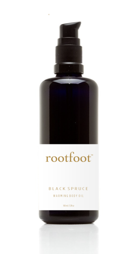Rootfoot Black Spruce Warming Body Oil