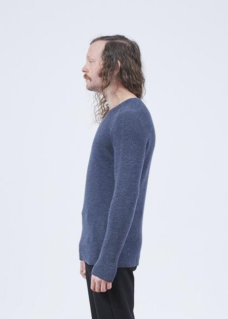 Hannes Roether Residency Minga Knit Sweater - Ice Blue