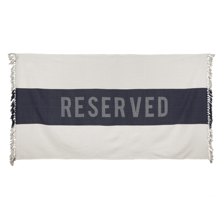 Sir Madam Reserved Beach Towel
