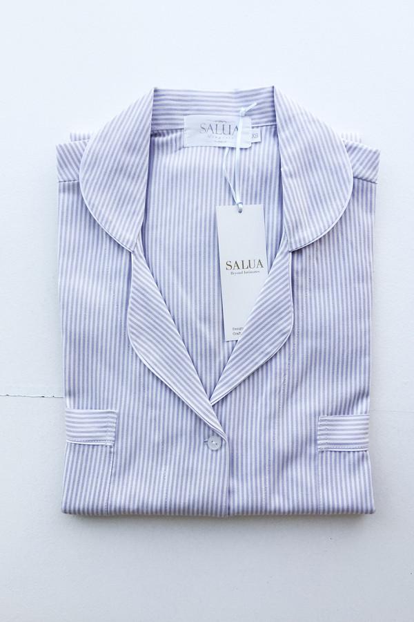 Striped Boyfriend PJ Shirt