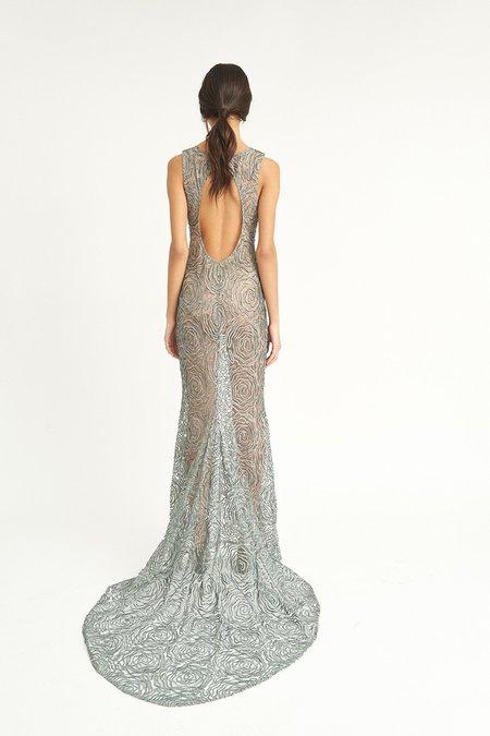 ALEXIA KLEIN Tulle Gown - Silver