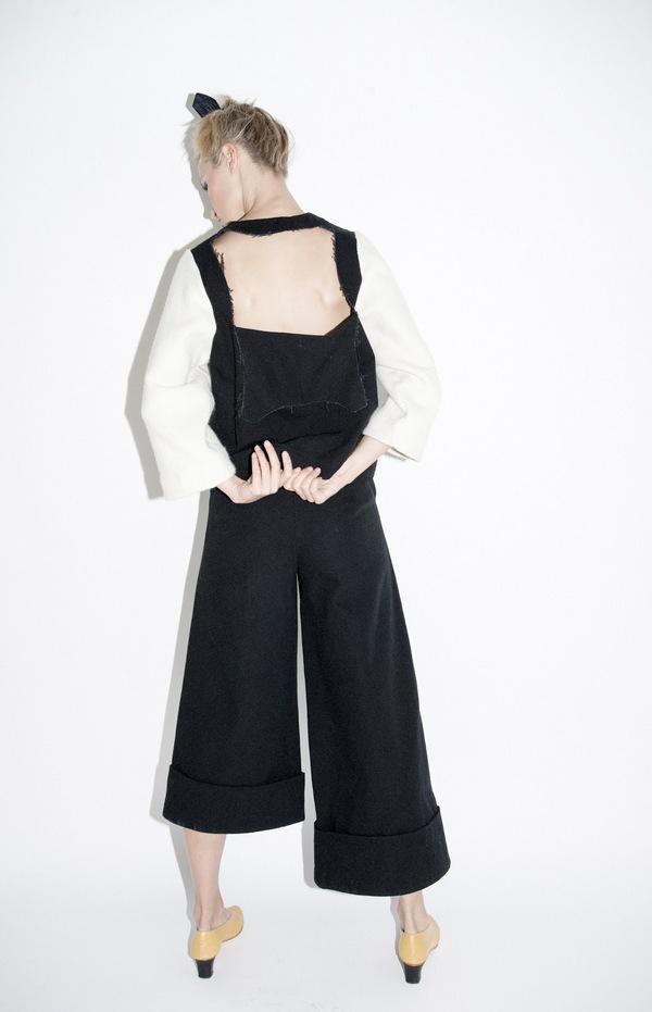 nancystellasoto Uneven Trousers
