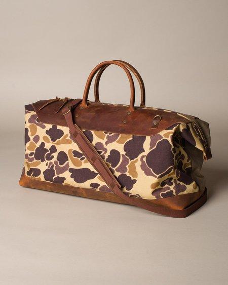 Wood&Faulk Northwesterner No.6 Bag - Duck Camo Limited
