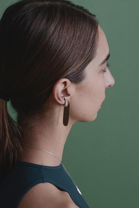 Seaworthy Dama Earrings - Brass