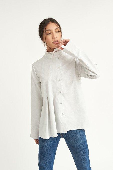 WYLDE Gaetan Asymmetric Shirt - Gray