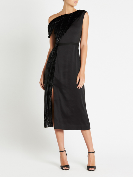 THREE FLOOR On & Off Dress - BLACK