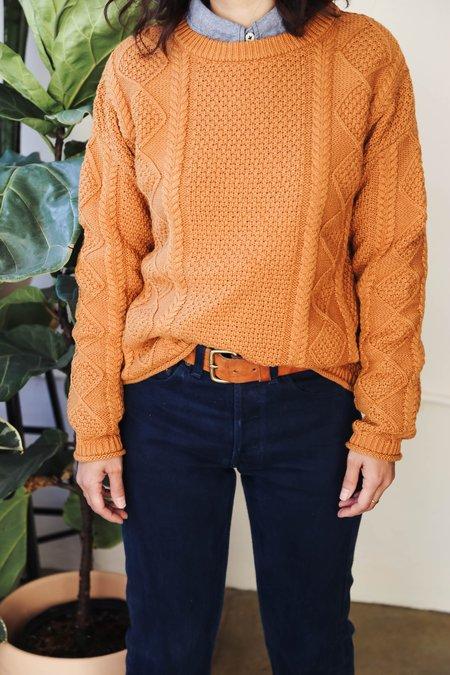 Tradlands Modern Fisher Sweater - Sienna
