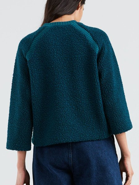 Levi's Made & Crafted - Nomadic Sherpa Crew / Brittany Blue