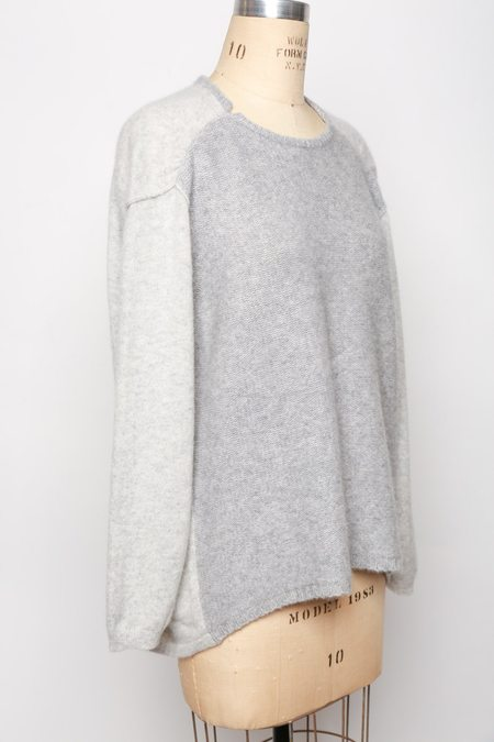 Antipast Knit Cashmere Sweater - Light Grey