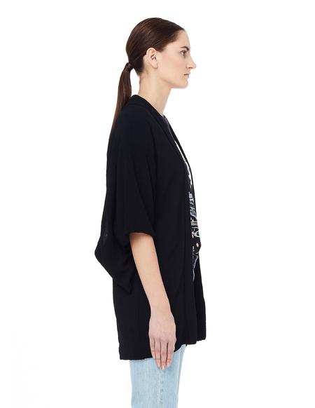 Blackyoto Toko Silk Kimono - Black
