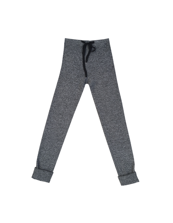 Micaela Greg RIBBED SLIM SWEAT - GREY
