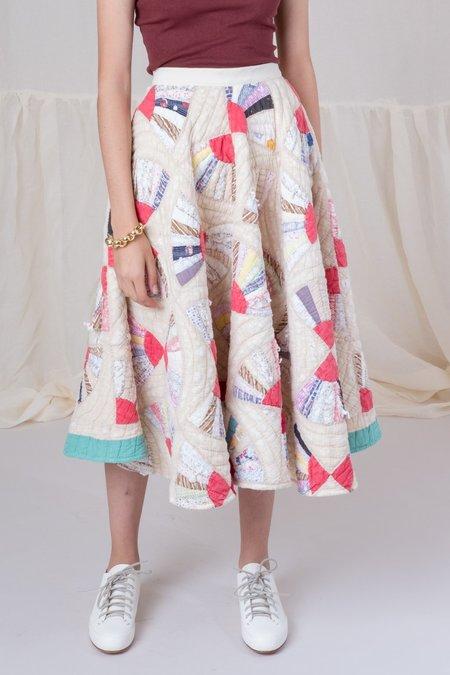 Carleen Vintage Quilt Skirt