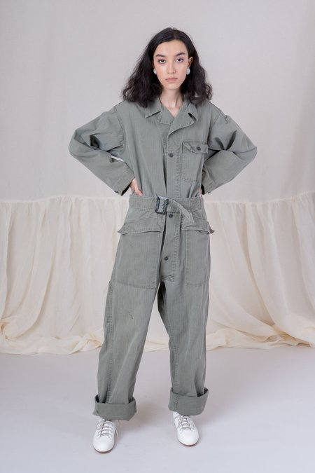 Shop Boswell Vintage Big Mac Coveralls - Green