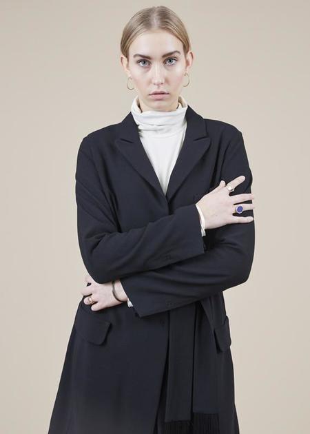 annette gortz Alma Smoking Jacket - black