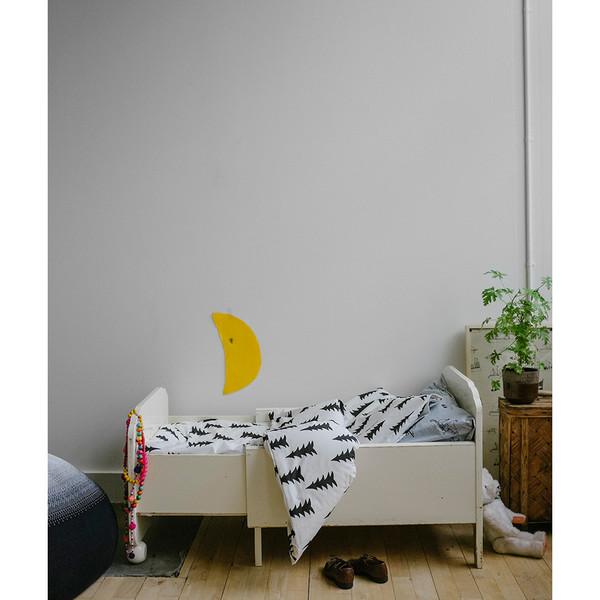 FINE LITTLE DAY GRAN CRIB BED SET - WHITE BLACK