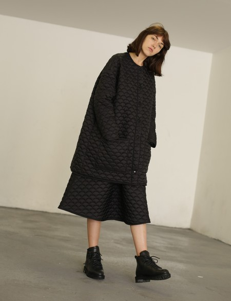 R/H Studio Luna Loose Skirt - Black