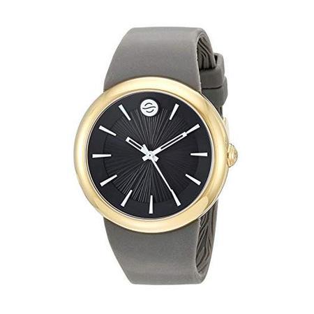 Unisex Philip Stein Fruitz Sport Watch with White Dial and Grey Strap