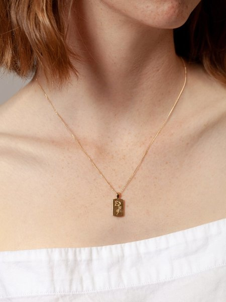 Wolf Circus Elsworth Necklace - Gold