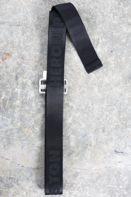 Heron Preston Jacquard Tape Belt - Black