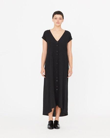 Esby Winnie Tie Back Dress - Black