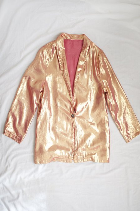 Colorant Loyal Blazer - Rose Gold