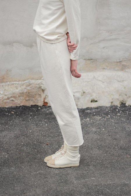 Wol Hide Fleece Easy Pant - Natural