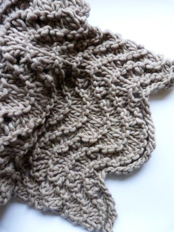 Unknown Bloomfield Blanket Lace Wrap of Peruvian wool  (shown in fawn)