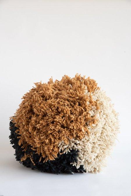 Tamar Mogendorff Pompom - Natural/Charcoal/Ochre