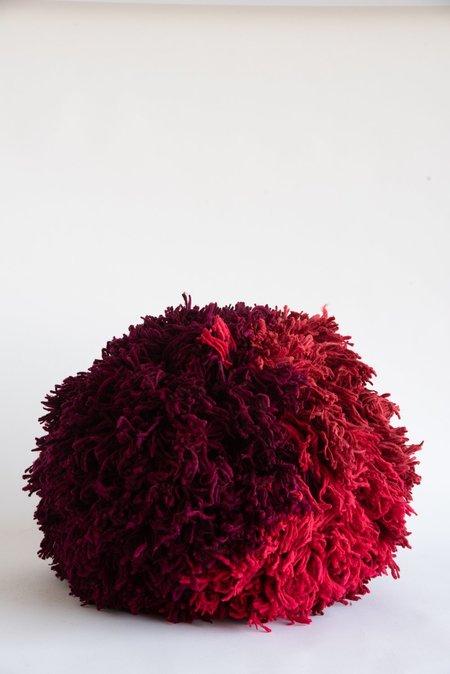 Tamar Mogendorff Pompom - Pink/Red/Burgundy