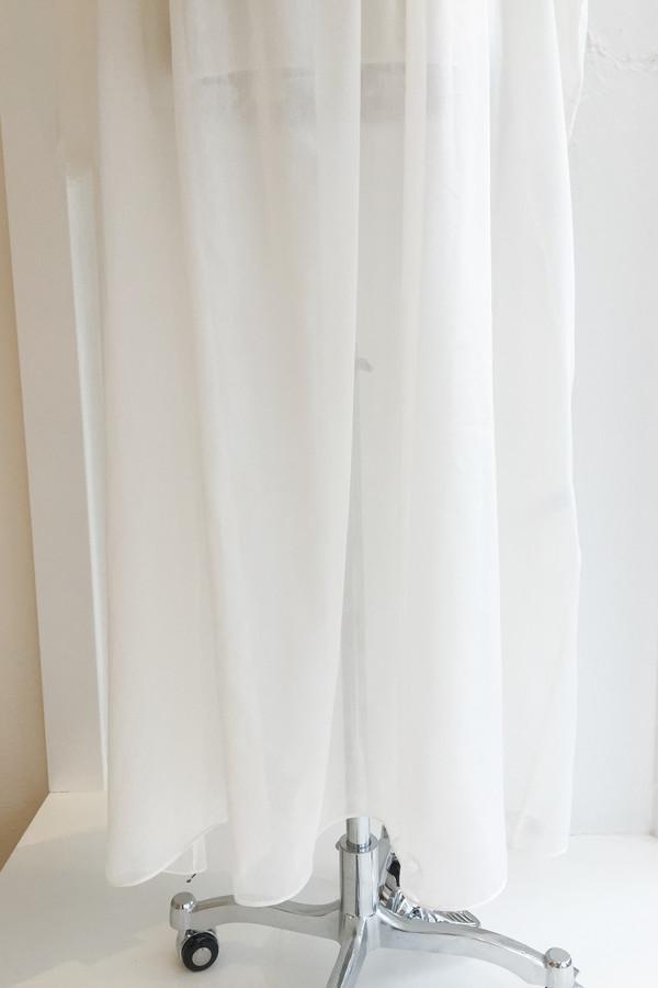 Salua Gardenia Gown in Cotton/Silk