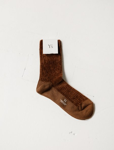 Ys by Yohji Yamamoto Chenille Socks