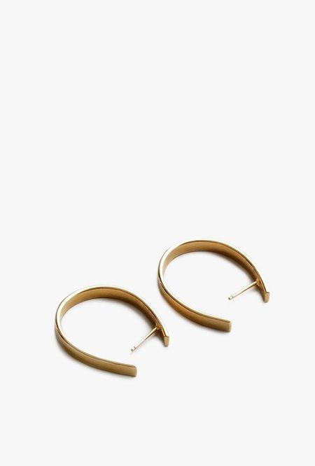 Wolf Circus Adelade Hoop Earrings - 14k Gold