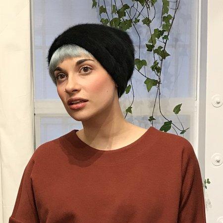 Claudia Schulz Kit Angora Toque