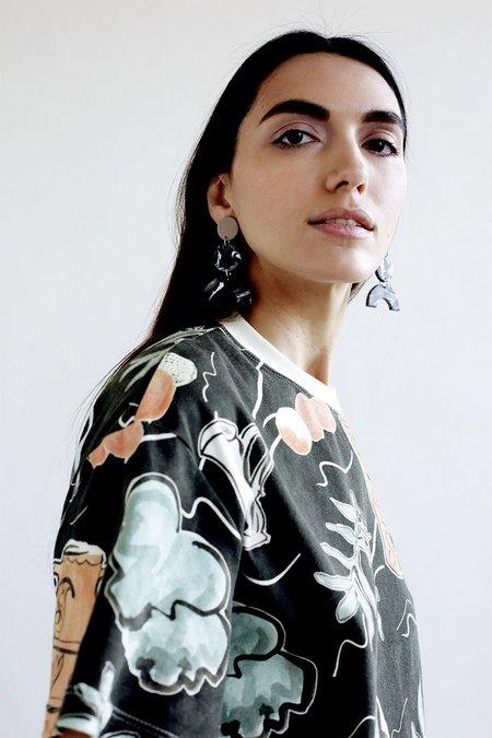 Elise Ballegeer Agnes Dress - Vessel Print